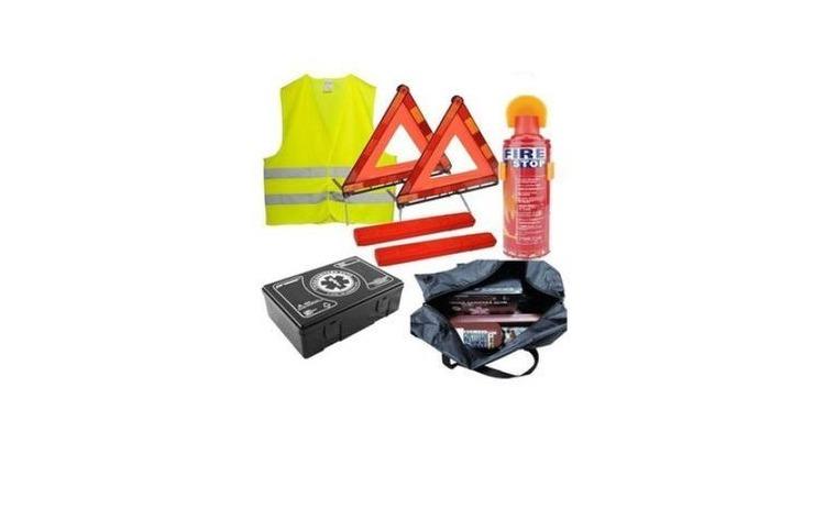 Kit complet de siguranta auto format din