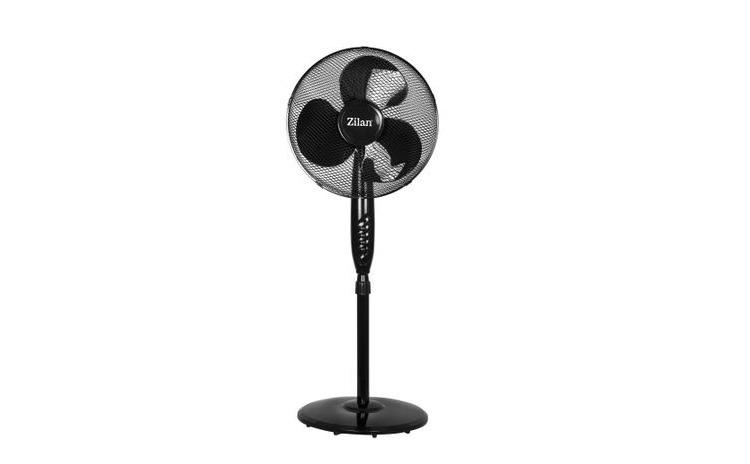 Ventilator cu picior Zilan , putere 50w, diametru 40 cm, inaltime reglabila intre 98 cm - 130 cm, os