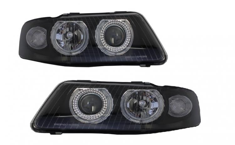 Set 2 faruri Angel Eyes compatibil Audi