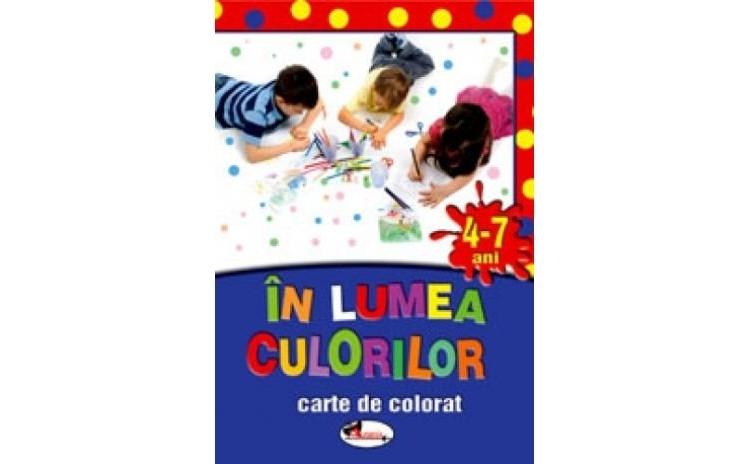 In lumea culorilor (4-7 ani), autor Alice Nichita, Mihaela Mitroi