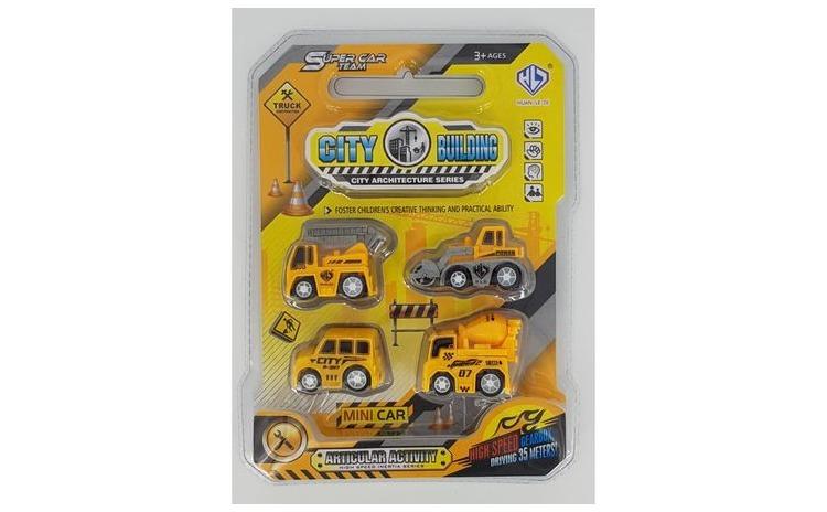 Set 4 masinute constructor