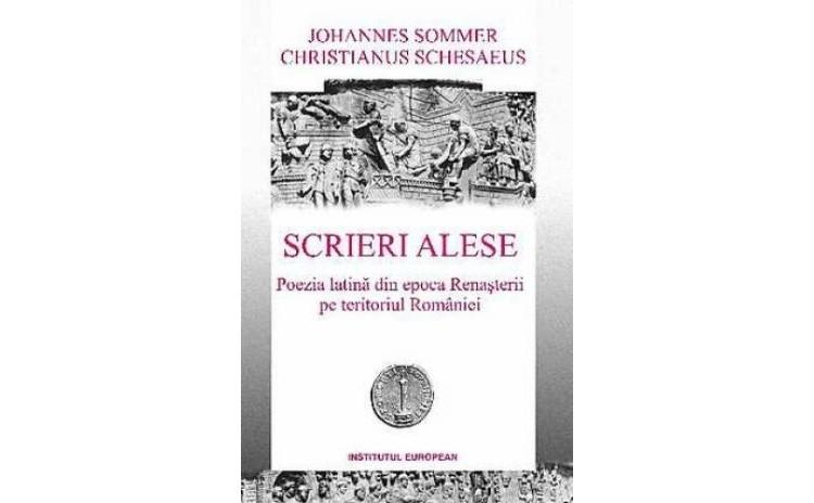 Scrieri alese, autor Johannes Sommer