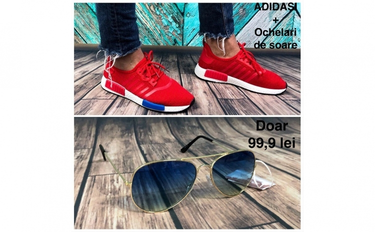 Imagine indisponibila pentru Pantofi sport unisex + cadou ochelari, marimi 36-45