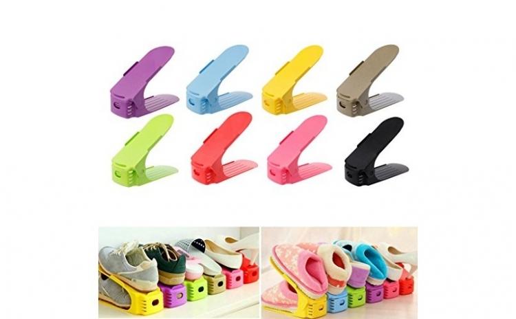 Set 10 organizatoare pentru pantofi