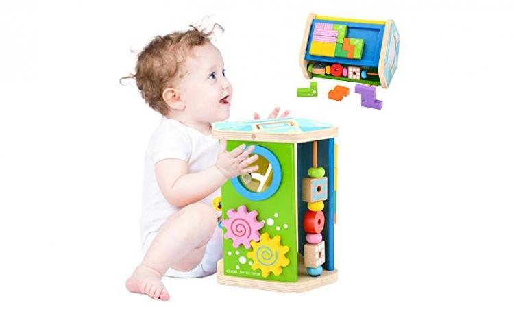 Cub educativ Montessori 7 in 1