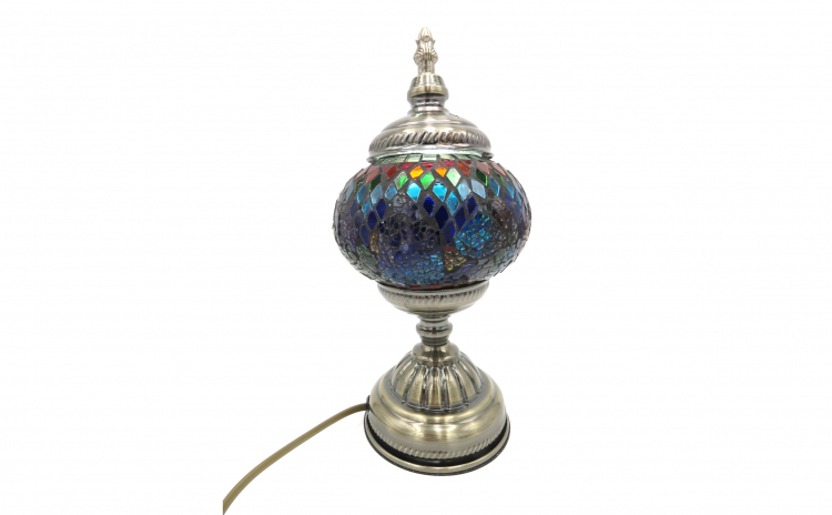 Veioza, mozaic din sticla lucrat manual