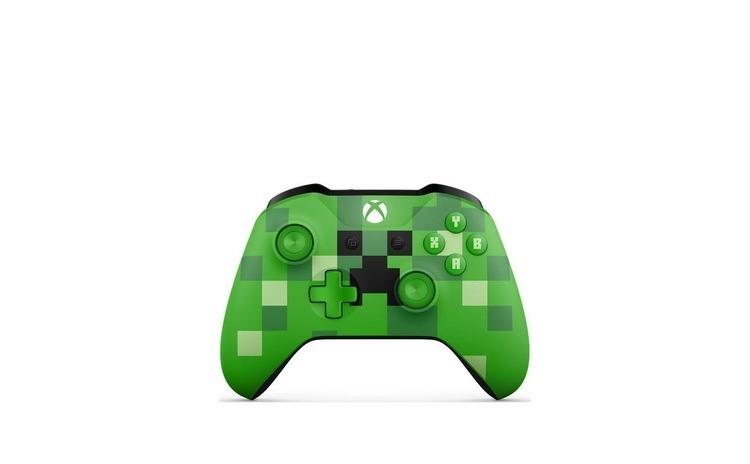 Imagine indisponibila pentru Joc Microsoft Wireless Controller Minecraft Cre Microsoft Wireless Controller Minecraft Creeper Limited Edition Pentru Xbox One