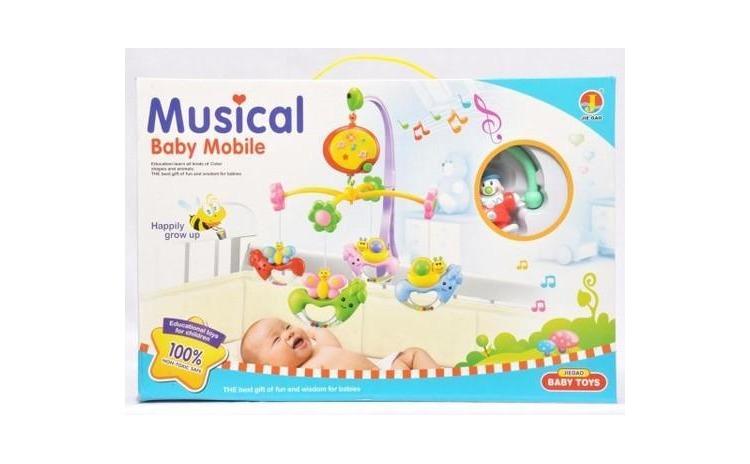 Carusel muzical pentru patut bebe