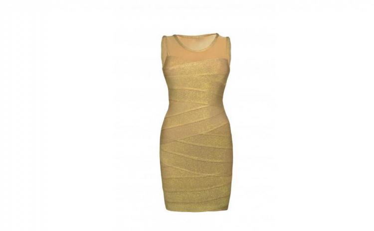 Rochie Bandage Gold, La Doar 149 Ron In Loc De 299 Ron