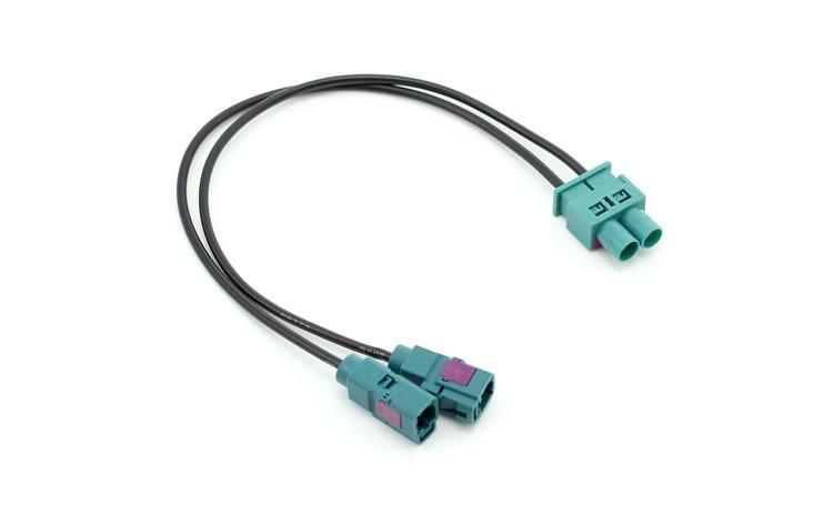 Adaptor antenă Double-FAKRA(tată) ->