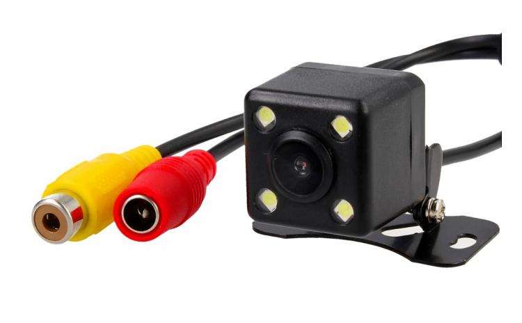 Camera video marsarier cu 4 led IR