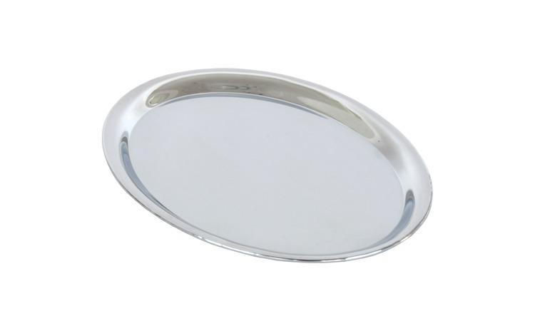 Tava servire ovala, otel cromat, 25.5 x