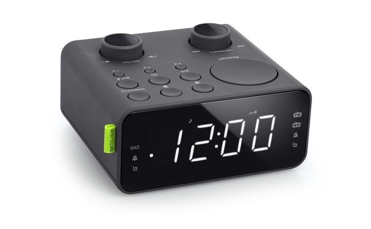 Radio cu ceas MUSE M17 CR Dual Alarm LED