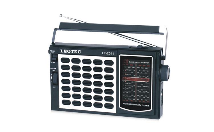 Radio Leotec LT-2011, cu 11 benzi radio