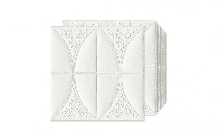 Set 5 x Tapet adeziv White Roses