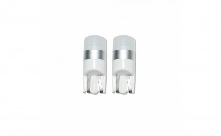Set 2 x Bec led W5W  T10 cu LED CSP