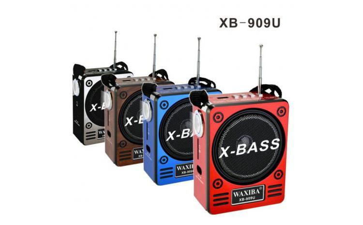 Boxa radio portabil cu acumulator X-Bass