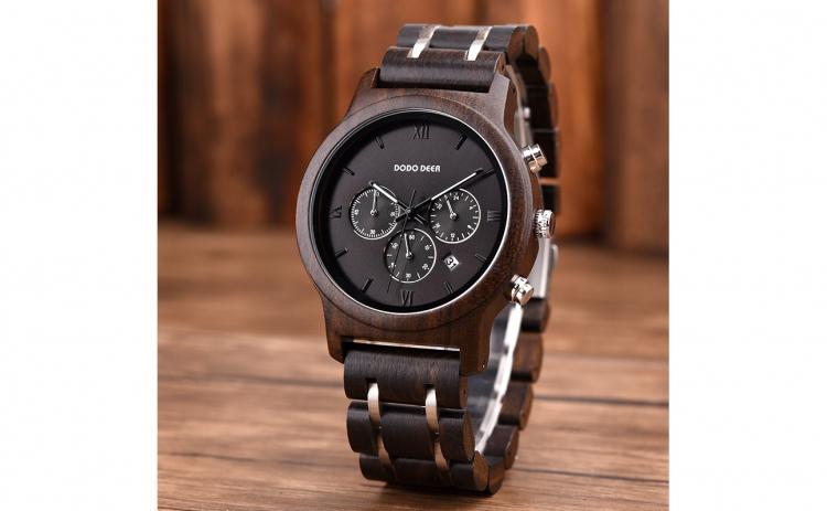 Ceas din lemn Dodo Deer