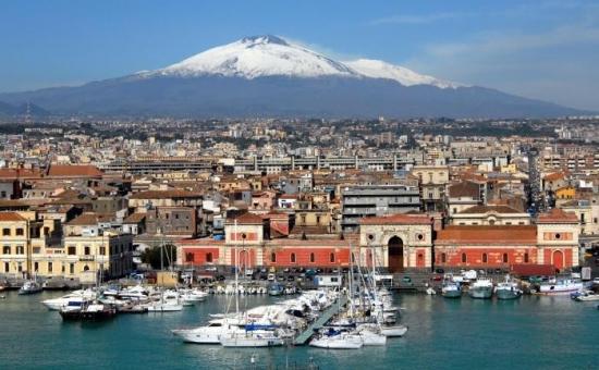 City break in Catania