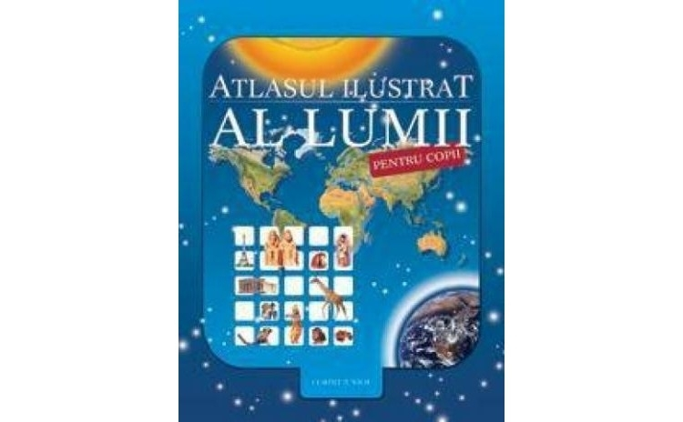 Atlasul ilustrat al lumii, autor Nicholas Harris