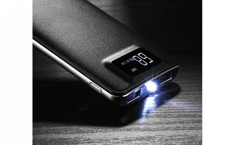 Baterie externa 10000 mah, 2 porturi USB