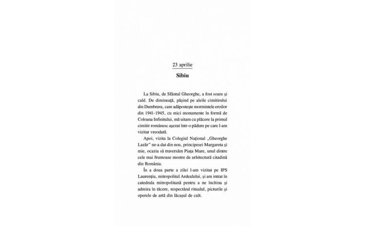 Biblioteca in flacari - Principele Radu