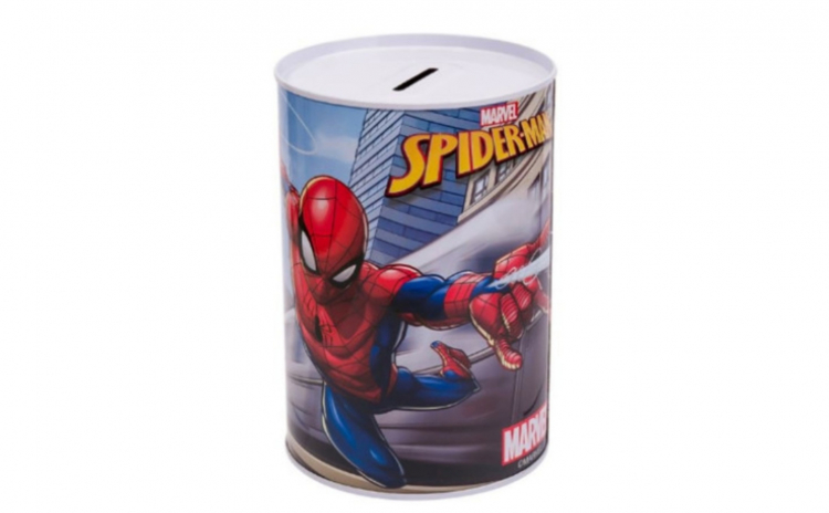 Pusculita metalica Spiderman