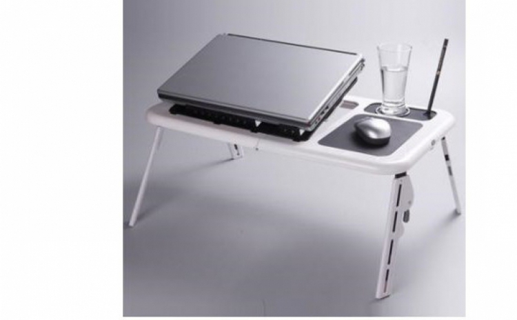 Masuta Masa laptop E-Table cu 2 coolere!