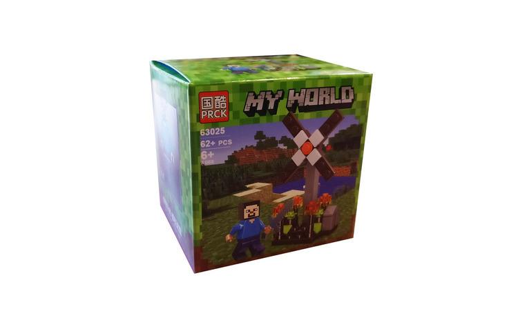 Set de constructii cuburi, Lume mea, 62