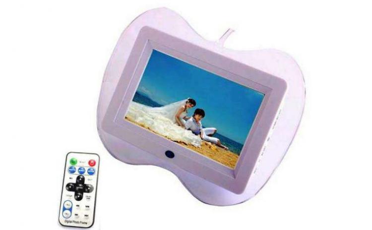 Rama Foto Digitala 7 Inch Mp3 Player  Telecomanda  Video  Usb  Sd  Difuzor  La Doar 109 Lei De La 229 Lei