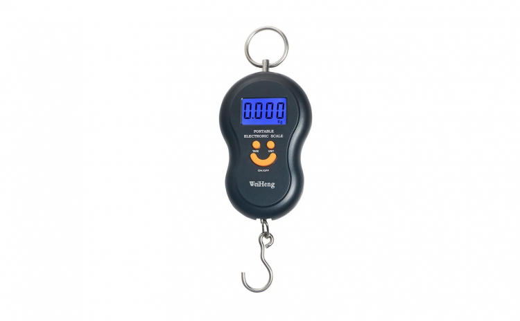 Cantar electronic 40kg, Negru, Ecran LCD