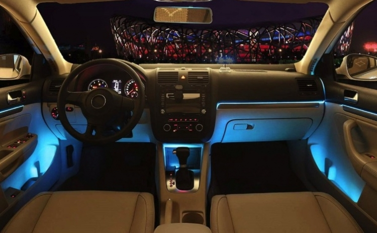 Banda decorativa auto LED 3m