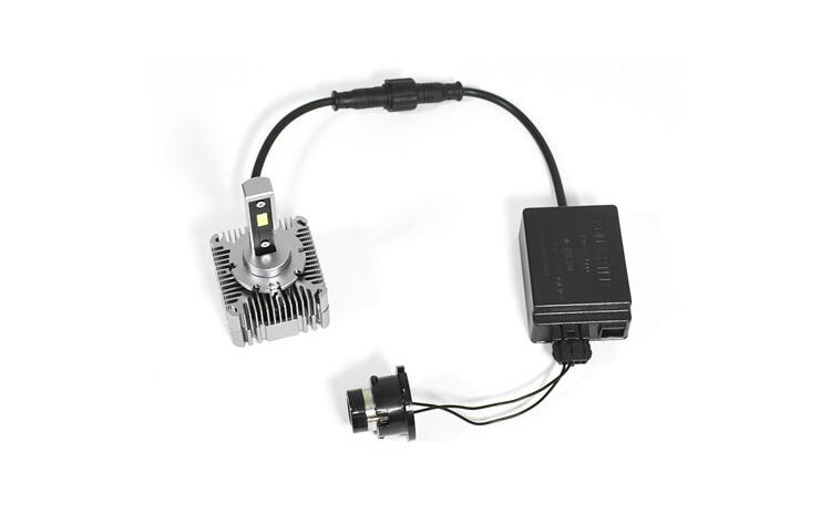 Kit de 2 becuri led conversie HID to LED