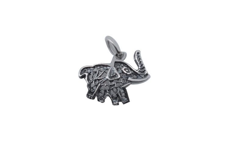 Pandantiv Argint 925 Elefant Filigran