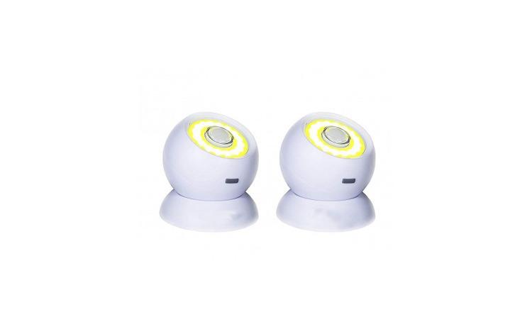 Set de 2 lampi LED cu senzor de miscare,