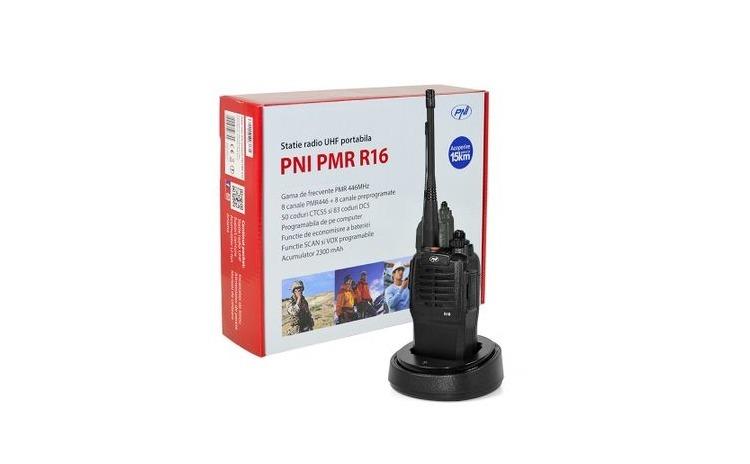 Statie radio UHF portabila PNI PMR R16