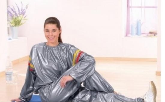 Costum de slabit cu efect de sauna - accelereaza arderea grasimilor