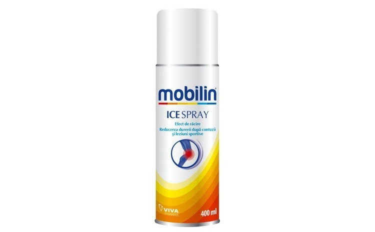 Mobilin ice spray Viva Pharma, 400 ml