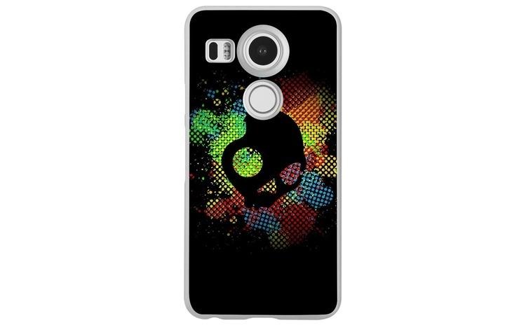 Husa Colorful Skull Dark Art Illustration LG Nexus 5