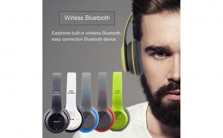 Casti Wireless Bluetooth P47