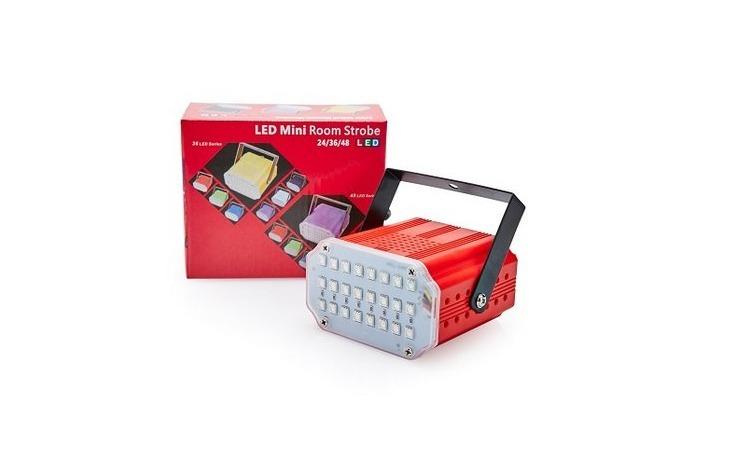 Mini proiector tip stroboscop 24 led-uri