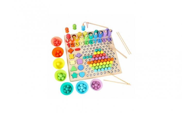 Joc Montessori 5 in 1 Logarithmic