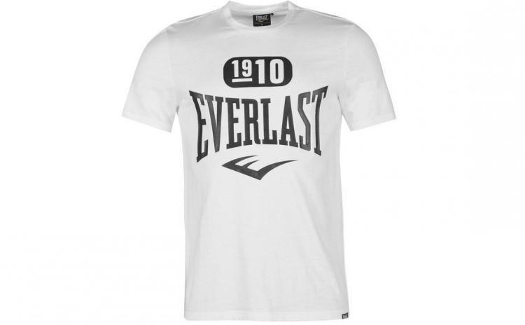 Imagine indisponibila pentru Tricou barbati Everlast Logo White