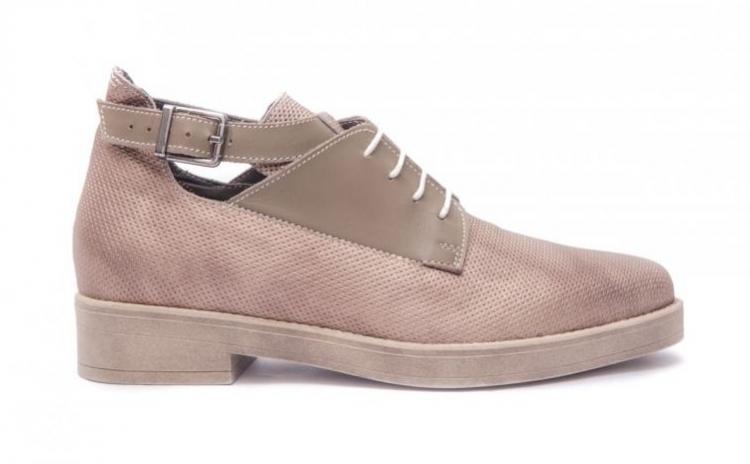 Pantofi dama smart casual argintii