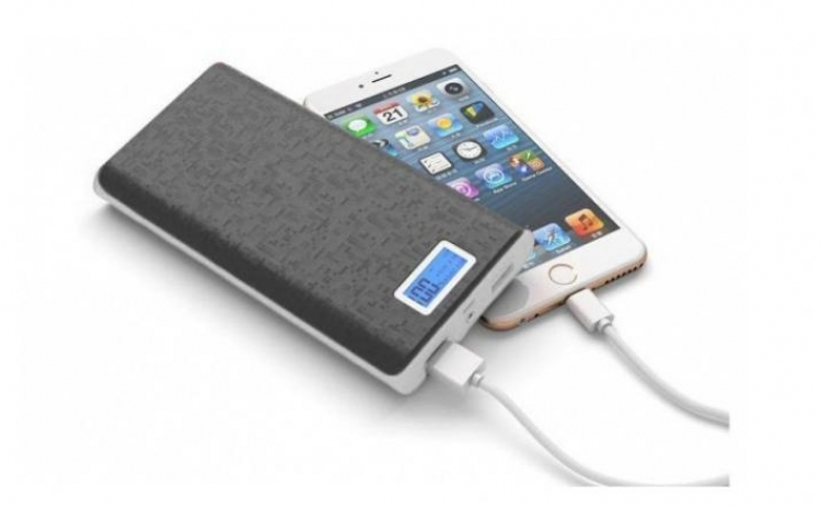 Baterie externa 28000 mAh, cu 2 USB, pentru telefoane, tablete, camere foto/video C110