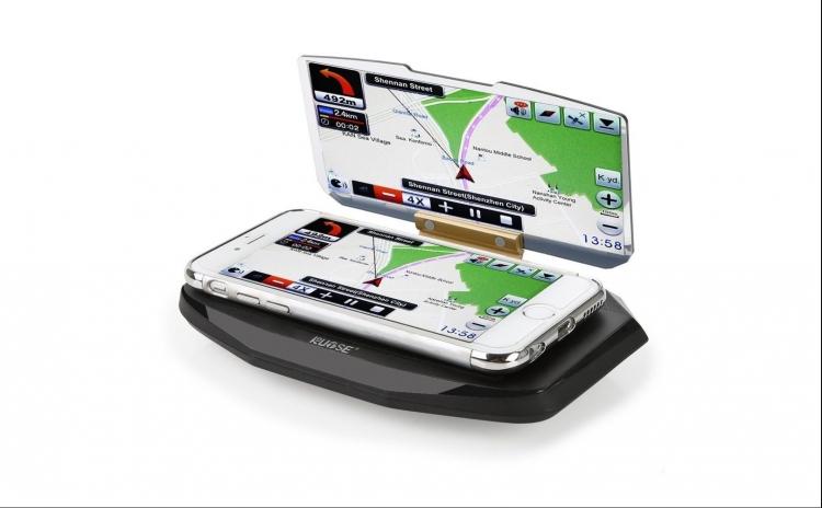 Suport De Parbriz Pentru Telefon Sau Gps Cu Reflexie - Pastreaza Atentia La Drum