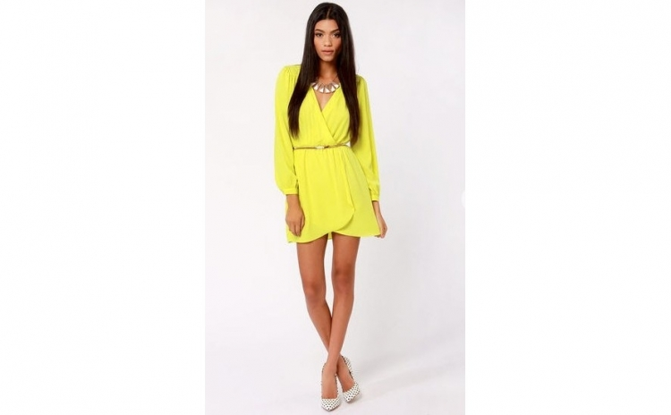 Rochie Neon Yellow Style Casual, la 109 RON in loc de 220 RON
