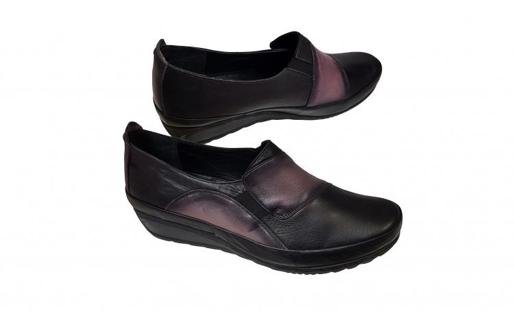 Pantofi dama piele naturala marimi mari