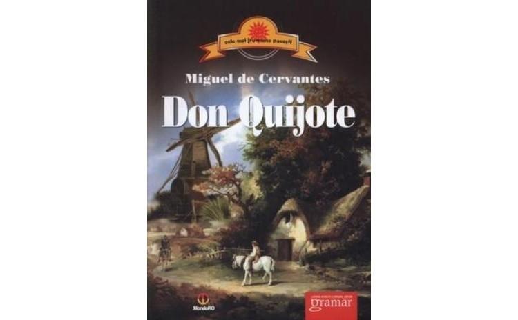 Don Quijote, autor Miguel de Cervantes