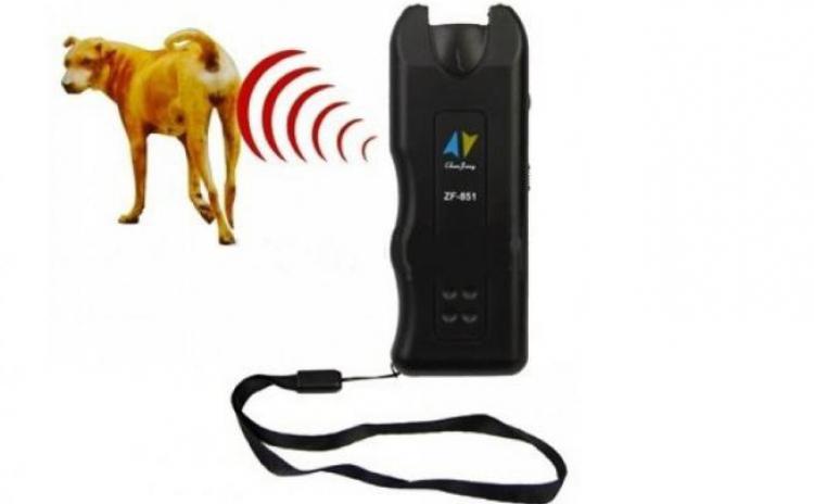 Aparat portabil - ultrasunete anti caini